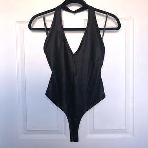 NWT - Forever 21 Black Bodysuit / Size S